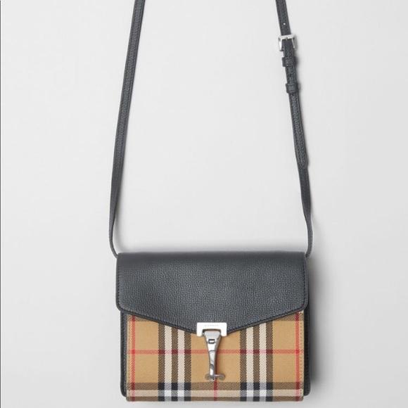 9f47314d6b5 Burberry Bags | Mini Leather Vintage Check Crossbody | Poshmark
